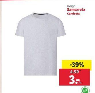 Oferta de Camiseta Livergy por 3€