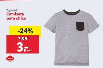 Oferta de Camiseta Pepperts por 3€