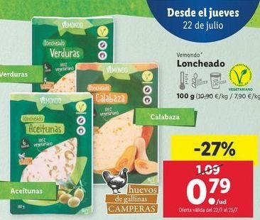 Oferta de Loncheado Vemondo por 0,79€