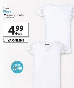 Oferta de Blusa Esmara por 4,99€