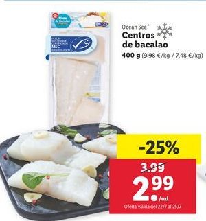 Oferta de Bacalao ocean sea por 2,99€