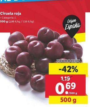 Oferta de Ciruela Roja por 0,69€