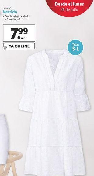 Oferta de Vestidos Esmara por 7,99€