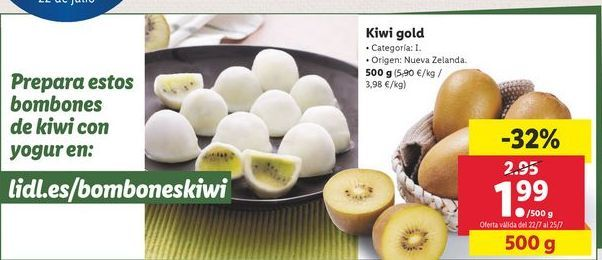 Oferta de Kiwi Gold por 1,99€