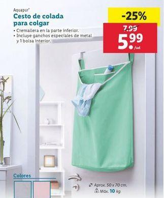 Oferta de Cesto Aquapur por 5,99€