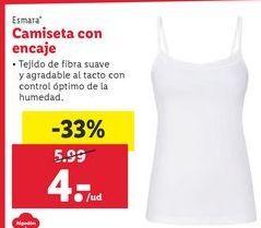 Oferta de Camiseta esmara por 4€
