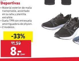Oferta de Zapatillas Deportivas por 8€