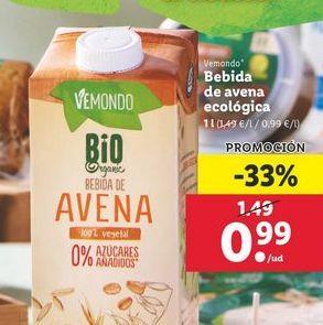 Oferta de Leche de almendras por 0,99€