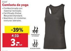 Oferta de Camiseta de yoga por 3€