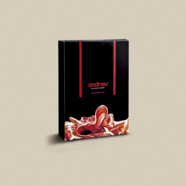 Oferta de Regala pack 750 g de paleta Andreu, una exquisita cata por 77€