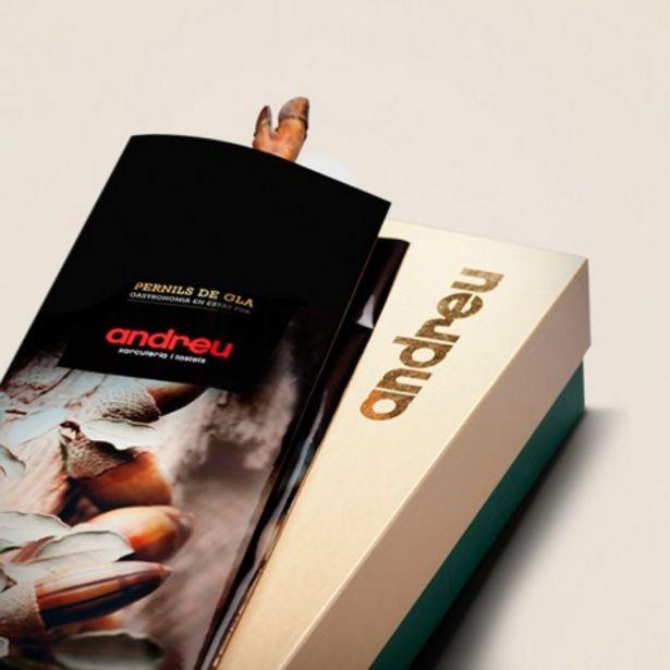 Oferta de Jamón de Bellota 100% Ibérico 6,5 kg. en una caja de regalo por 397,43€