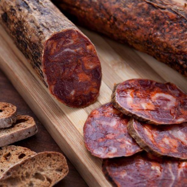 Oferta de Chorizo ibérico de bellota, el embutido más típico de la península (150 g) por 5,93€