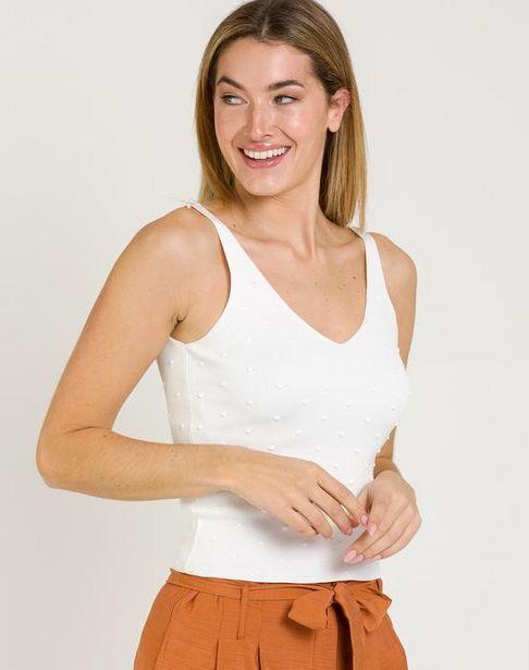 Oferta de Jersey con mini borlas por 18,95€