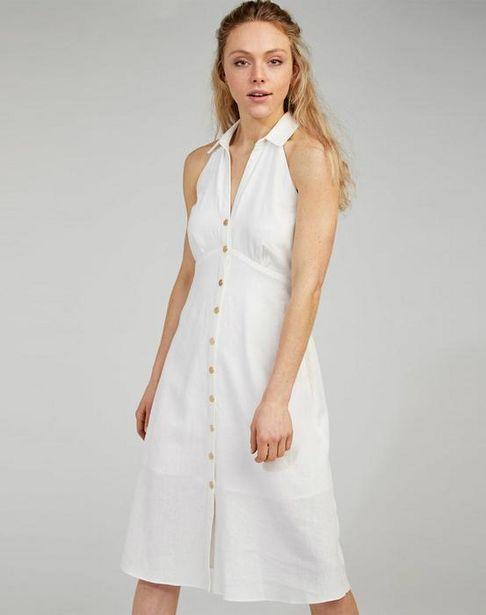 Oferta de Vestido cuello camisero por 39,95€