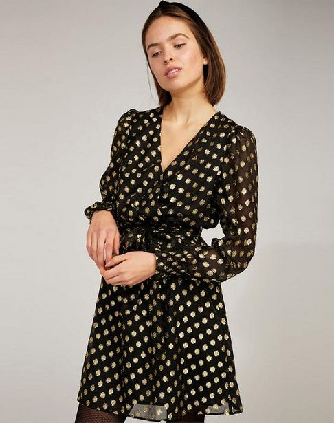 Oferta de Vestido con dorados por 44,95€