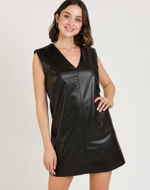 Oferta de Vestido efecto piel por 27,95€