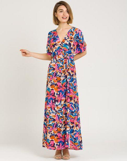 Oferta de Vestido largo multicolor por 59,95€