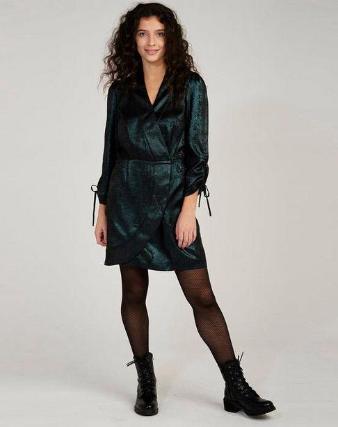 Oferta de Vestido efecto brillante por 39,95€