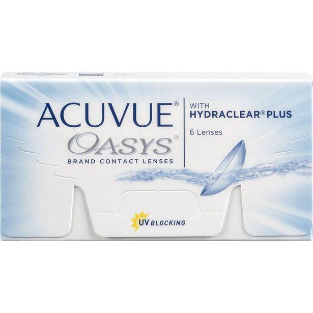 Oferta de Acuvue Oasys 6 por 13,99€