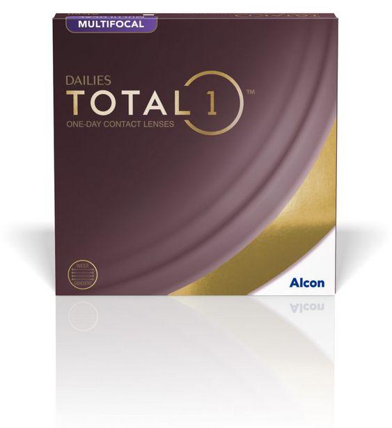 Oferta de Dailies Total 1 Multifocal 90 por 129€