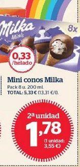 Oferta de Helados Milka por 1,78€