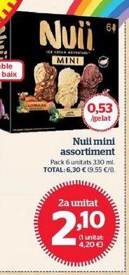 Oferta de Helados Nuii por 2,1€