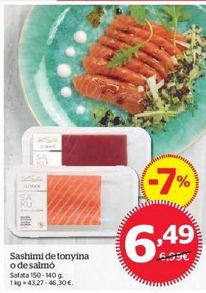 Oferta de Atún por 6,49€