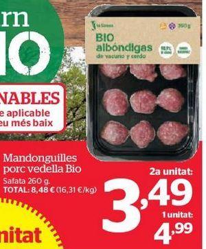 Oferta de Albóndigas por 3,49€