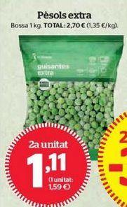 Oferta de Guisantes por 1,11€