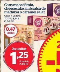 Oferta de Helados por 1,25€