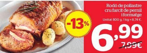 Oferta de Redondo de pollo por 6,99€