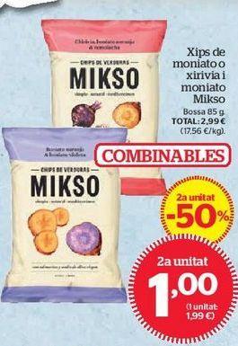Oferta de Chips por 1€