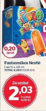 Oferta de Helados Nestlé por 2,03€