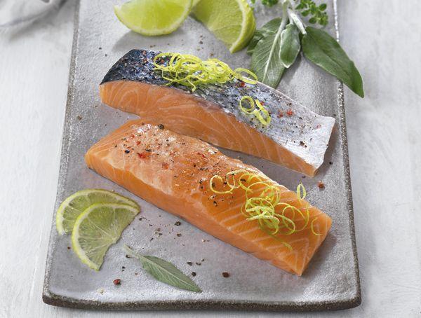 Oferta de Lomos de salmón con piel por 6,99€