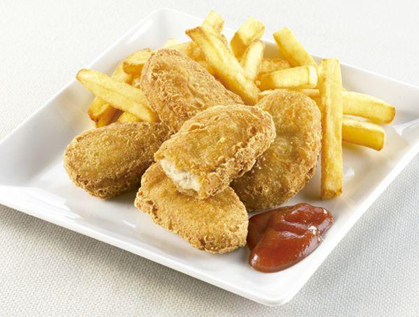 Oferta de Nuggets de pechuga de pollo por 2€