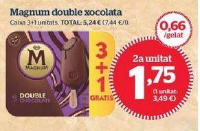 Oferta de Helados Magnum por 1,75€
