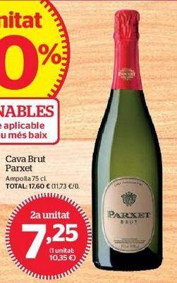 Oferta de Cava brut Parxet por 7,25€
