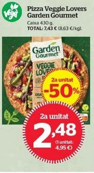 Oferta de Pizza por 2,48€