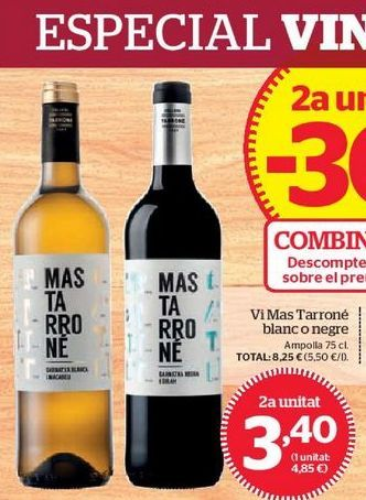 Oferta de Vino tinto por 3,4€