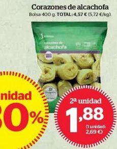 Oferta de Corazones de alcachofa por 1,88€