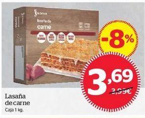 Oferta de Lasaña de carne por 3,69€