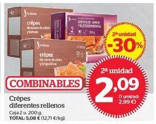 Oferta de Crepes por 2,09€