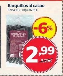 Oferta de Barquillos por 2,99€