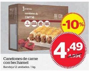 Oferta de Canelones por 4,49€
