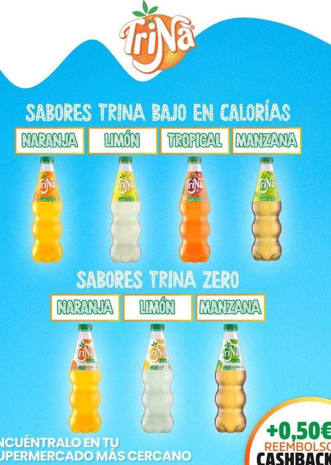 Oferta de Refresco de limón Trina por