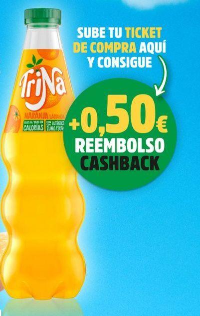 Oferta de Refresco de naranja Trina por