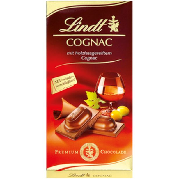 Oferta de Tableta Licor Cognac 100g por 2,69€