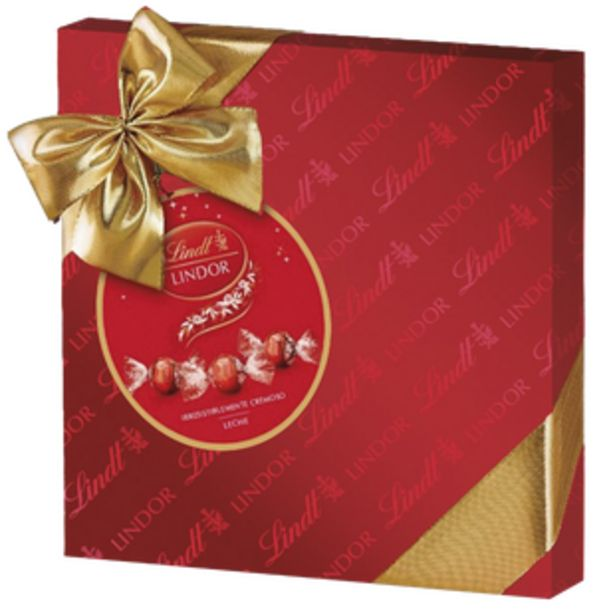 Oferta de Lindor Gift Box Leche 187g por 9,99€