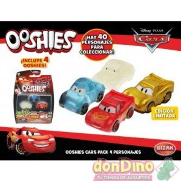 Oferta de Pack 4 personajes cars 3 ooshies s1 por 2,5€