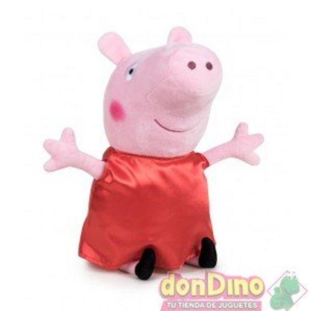 Oferta de Peluche peppa pig 60 cm. por 29,99€